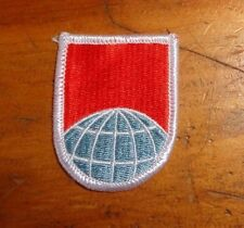 AIRBORNE BERET FLASH. 55TH SIGNAL COMPANY