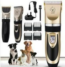Professional Pet Dog Grooming Clipper Thick Fur Hair Trimmer Electric Shaver Set