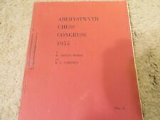 Vintage Allan Troy Chess Book-Ed #2-Aberystwyth, 1955 VERY RARE!