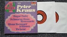Peter Kraus - Die vier grossen Hits 2 x 7'' Single [Sugar Baby/ Va bene]