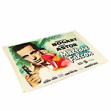 Maltese Falcon Movie Poster Humphrey Bogart Mary Astor Portal Old Vintage