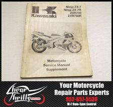 Factory Service Repair Manual Supplement Kawasaki Ninja ZX7 1993 OEM