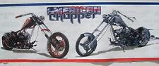 PEEL & STICK MOTORCYCLE CHOPPER BIKES wallpaper border 5""