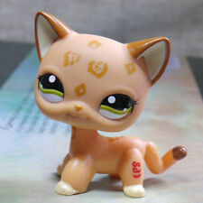Kahki Spotted  Short Hair Cat kitty LPS #1120 Action Figure