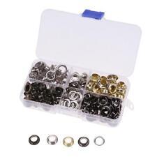 8mm Metal Eyelet Set Shoes Belt Bag Leather Hole Clothes Accessories Craft Decor