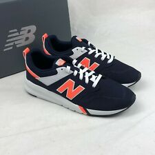 New Balance Men's 009 Casual Shoes MS009MN1 Pigment Blue/Orange