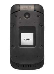 Sonim XP3 Flip Phone  8GB ROM/1G RAM Black Sprint A
