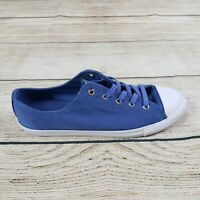 Converse Womens Purple Chuck Taylor All Star Dainty Ox Low Shoes Size 10.5 NWB
