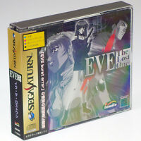 Eve the Lost One + Spine card Sega Saturn Japan Import SS NTSC-J Complete RARE !