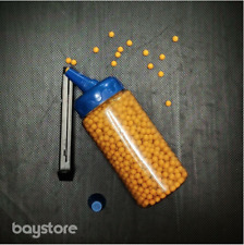 2000-pack |  Airsoft™ Plastic BB Pellet Gun Bullets (0.17g • 6mm) | Loader + Lid