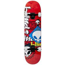 "Blind Skateboards Random Placement HYB Red Complete Skateboard  8.25"""