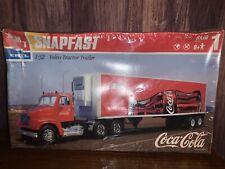 AMT ERTL Snapfast 1/32 Scale Coca-Cola Volvo Tractor Trailer Semi Truck #27041
