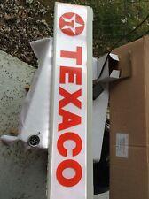 Philip Morris Texaco Lighted Shelf Light Sign Gas Oil Averting In Box