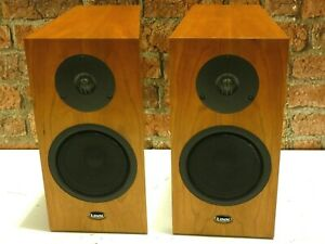 Pair Of Linn Katan Bi-Wire Bookshelf Or Surround Sound Use Loudspeakers (Set 1)
