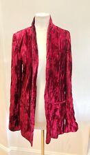 haider ackermann Red Velvet Blazer UK8/10