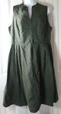 VINTAGE Alphorn German Women's 46 Classic Sleeveless Dress
