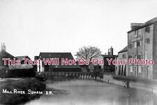 CA 349 - The Mill River Soham, Cambridgeshire c1933 - 6x4 Photo