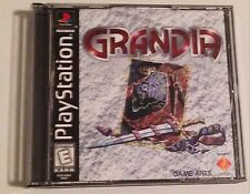 PlayStation Grandia Very Rare works great Good Condition