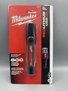 New Milwaukee 2160-21 800 Lumens USB Rechargeable Compact Flashlight