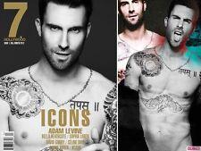 7 Hollywood Magazine #1,Adam Levine Maroon 5,Bella Heathcote,KESHA,DAVID GANDY