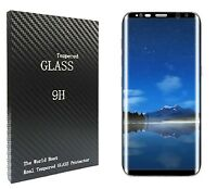 3D CURVED FULL COVER TEMPERED GLASS SCREEN PROTECTOR FOR SAMSUNG GALAXY S8 PLUS