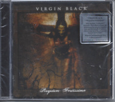 Virgin Black-Requiem Fortissimo Christian Black Metal Brand New Factory Sealed