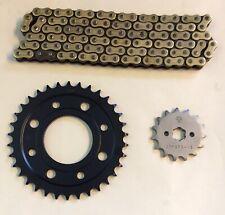 Gold Heavy Duty 428 Chain And JT Sprocket Upgrade Kit Honda MSX125 Grom 13-19