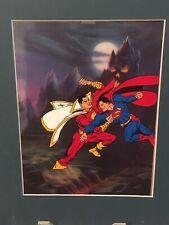Superman Vs Shazam Model Animation Cel