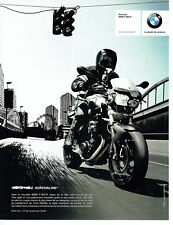 Publicité Advertising 058  2009   moto BMW  F 800 R  Chris Pfeiffer