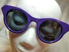 NWT A.J. Morgan Purple Tango Sunglasses Retro Cat Eye.