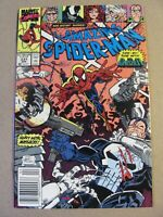 Amazing Spider-Man #331 Marvel 1963 Series Punisher Venom app Newsstand 9.2 NM-