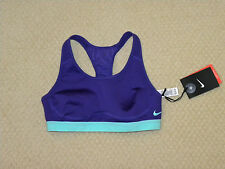 womens NIKE Pro Fierce purple bra size XS NEW nwt $50