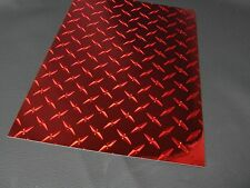 """Diamond Plate Wall Border Vinyl, Choose Size and Color, 6"""" and 8 inch wide rolls"""