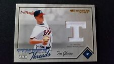 2003 Donruss Timber and Threada Game Used Jersey Tom Glavine Braves #094/225
