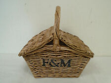 Small Fortnum & Mason Picnic Hamper Basket