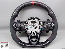 Mini Cooper S JCW F55 F56 F61 Flat Thick Small Alcantara CARBON Steering WHEEL