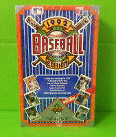 1992 Upper Deck Low Series 1 Baseball Hobby Box Factory Sealed Find the Williams