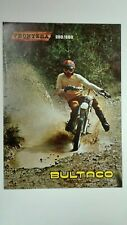 Prospectus Catalogue Brochure Motos BULTACO FRONTERA 250/360 1975/76