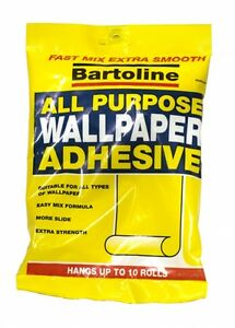 Wallpaper Adhesive Paste Glue 5-10 Roll pack All Purpose Easy Mix Extra Strength