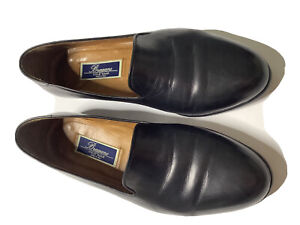 Bragano by Cole Haan Loafers 11  Italian Glove Leather Tuxedo Loafers
