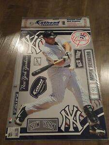 BRAND NEW! MLB NY YANKEES MARK TEIXERA FATHEADS TEAMMATES DECALS!