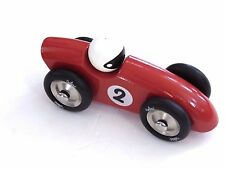 """Vilac Competition Car Push and Pull Toy Red Large 7"""""""