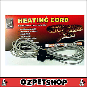 URS Heat Cord 4.3m 25 watt - Ultimate Reptile Supplies Heating Cord