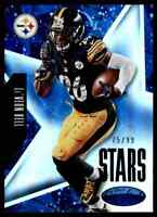 2015 CERTIFIED STARS BLUE LE'VEON BELL 75/99 PITTSBURGH STEELERS #S13 INSERT