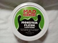 1986 Mattel Mad Scientist Monster Lab Monster Flesh Compound 23 Oz Container