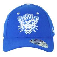 NCAA Zephyr Brigham Young Cougars Flex Fit Stretch Medium Large M/L Hat Cap