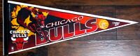 """VINTAGE CHICAGO BULLS 30"""" PENNANT - WINCRAFT EDITION 3 WITH NBA LICENSE STICKER"""