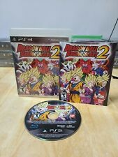 Dragon Ball: Raging Blast 2 (Sony PlayStation 3, 2010) PS3 Complete CIB