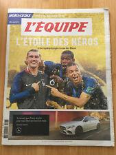 Hors Série journal L'Equipe Juillet 2018 - l'étoile des héros - France