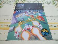 >> VIEW POINT VIEWPOINT NEO GEO SHOOT ORIGINAL JAPAN HANDBILL FLYER CHIRASHI! <<